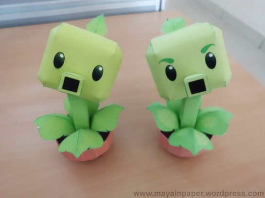 Plants Vs Zombies Papercraft