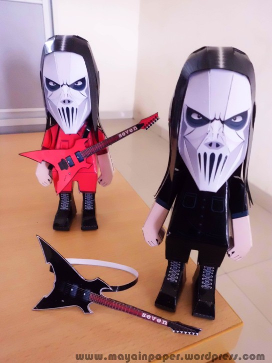 Mick Thomson Slipknot Papertoy